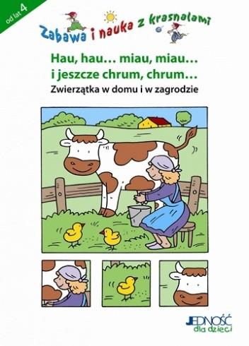 Okładka książki Zabawa i nauka z krasnalami - zwierzątka z domu i z zagrody