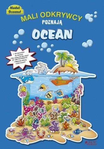 Okładka książki Mali odkrywcy poznają ocean