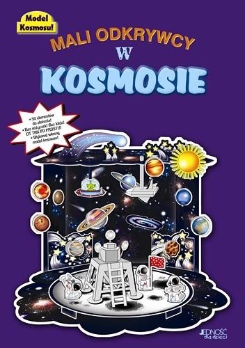 Okładka książki Mali odkrywcy w kosmosie