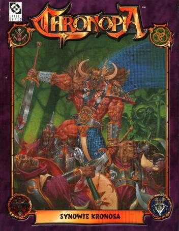 Okładka książki Chronopia - Synowie Kronosa