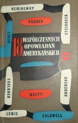 Okładka książki 18 współczesnych opowiadań amerykańskich