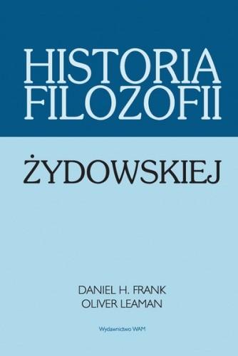 Okładka książki Historia filozofii żydowskiej