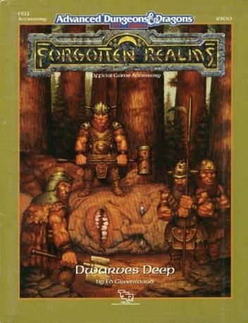 Okładka książki Dwarves Deep