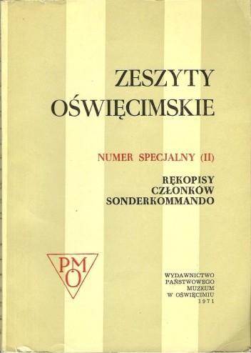 Okładka książki Zeszyty Oświęcimskie . Numer specjalny (II).