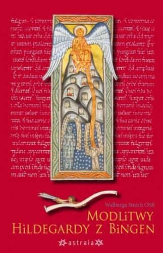 Okładka książki Modlitwy Hildegardy z Bingen