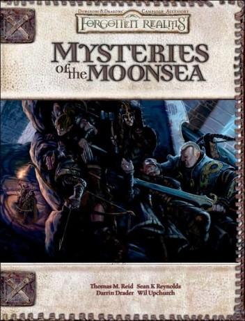 Okładka książki Mysteries of the Moonsea
