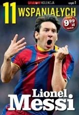 Okładka książki 11 wspaniałych. Lionel Messi