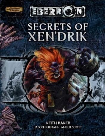 Okładka książki Secrets of Xen'drik