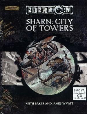 Okładka książki Sharn: City of Towers