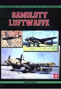 Okładka książki Samoloty Luftwaffe 1933-1945. Tom II