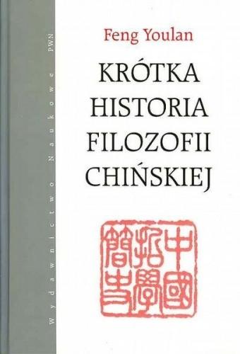 Okładka książki Krótka historia filozofii chińskiej