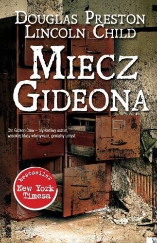 Okładka książki Miecz Gideona