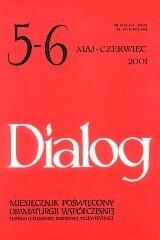 Okładka książki Dialog, nr 5-6 (534-535)/ maj-czerwiec 2001