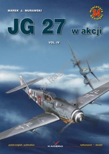Okładka książki JG 27 w akcji vol. IV