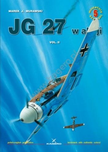 Okładka książki JG 27 w akcji vol. II
