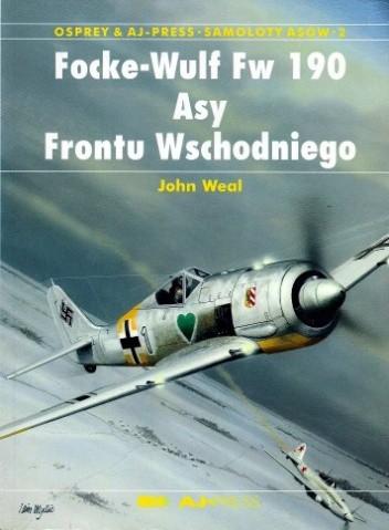 Okładka książki Focke-Wulf Fw 190. Asy Frontu Wschodniego