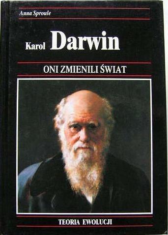 Okładka książki Karol Darwin