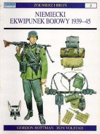 Okładka książki Niemiecki ekwipunek bojowy 1939-45