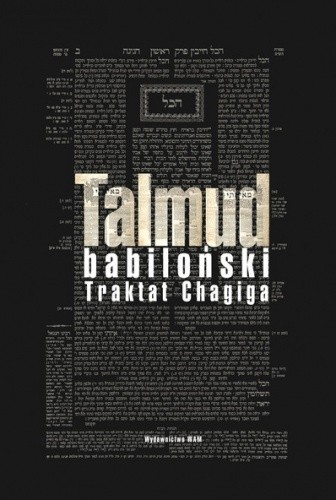 Okładka książki Talmud babiloński. Traktat Chagiga