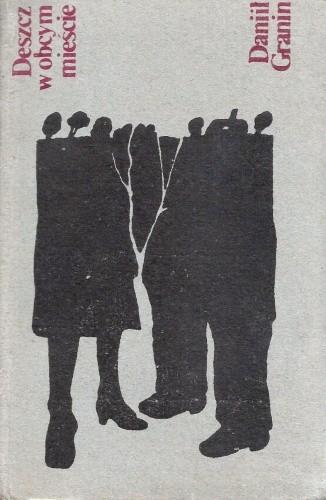Okładka książki Deszcz w obcym mieście