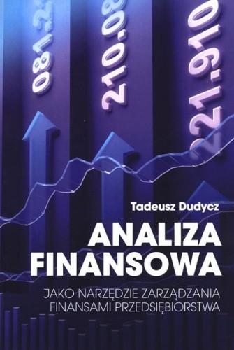 Okładka książki Analiza finansowa jako narzędzie zarządzania finansami przedsiębiorstwa