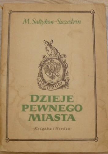 Okładka książki Dzieje pewnego miasta