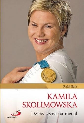 Okładka książki Kamila Skolimowska. Dziewczyna na medal