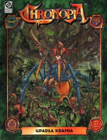 Okładka książki Chronopia - Upadła Kraina