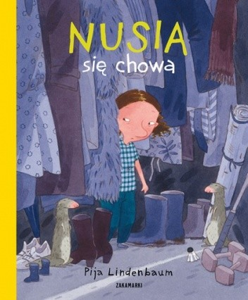 Okładka książki Nusia się chowa