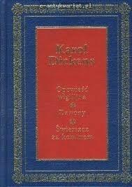 Okładka książki Opowieść wigilijna. Dzwony. Świerszcz za kominem.