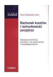 Okładka książki Rachunek kosztów i rachunkowość zarządcza