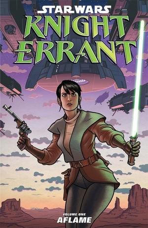 Okładka książki Star Wars: Knight Errant Volume 1 Aflame