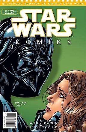 Okładka książki Star Wars Komiks 6/2011