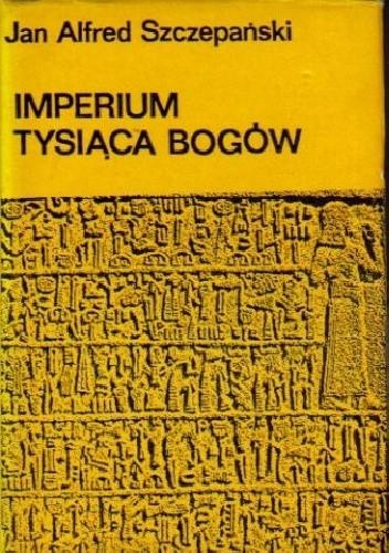 Okładka książki Imperium Tysiąca Bogów