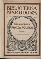 Średniowieczna proza polska
