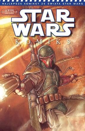 Okładka książki Star Wars Komiks 12/2011