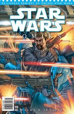 Okładka książki Star Wars Komiks 1/2012