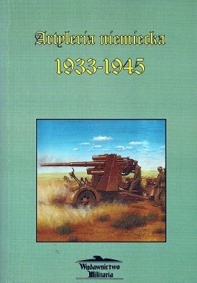 Okładka książki Artyleria niemiecka 1933-1945