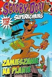 Okładka książki Scooby Doo Zamieszanie na planie
