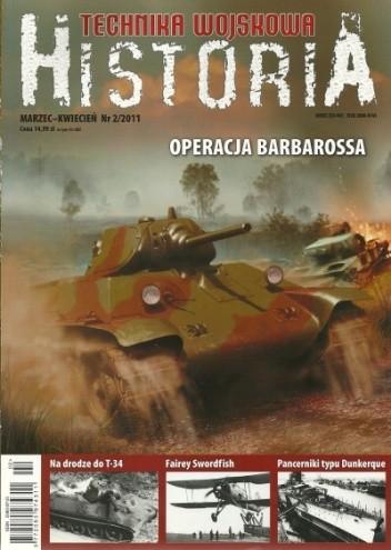 Okładka książki Technika Wojskowa HISTORIA - 2011/2