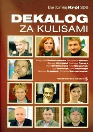 Okładka książki Dekalog za kulisami