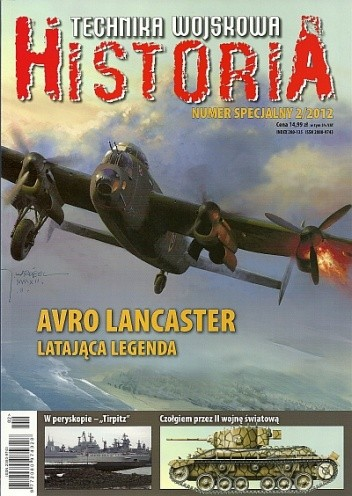Okładka książki Technika Wojskowa HISTORIA - 2012/2