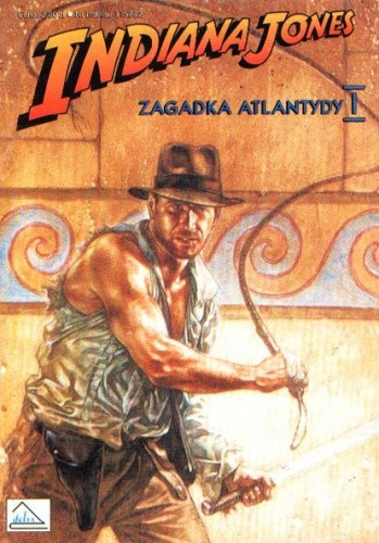 Okładka książki Indiana Jones i zagadka Atlantydy I