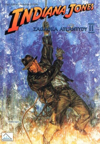 Okładka książki Indiana Jones i zagadka Atlantydy II