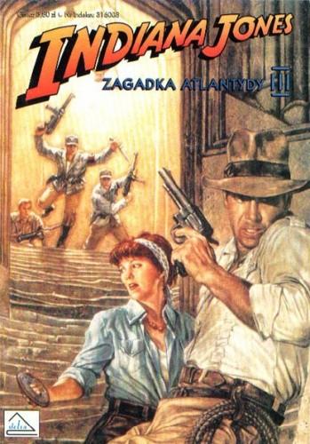Okładka książki Indiana Jones i zagadka Atlantydy III