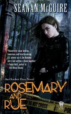 Okładka książki Rosemary and Rue