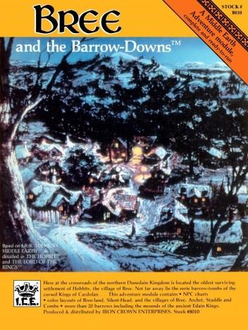 Okładka książki Bree and the Barrow-Downs