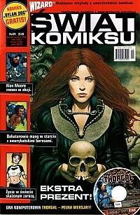 Okładka książki Świat Komiksu #38 (czerwiec 2005)