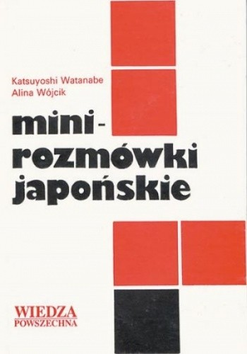 Okładka książki Mini rozmówki japońskie
