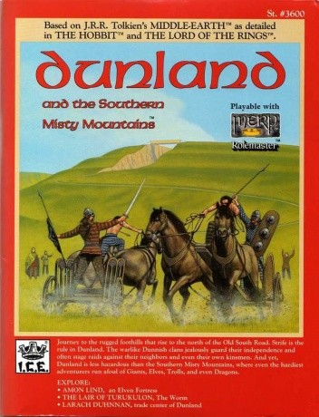 Okładka książki Dunland and the Southern Misty Mountains